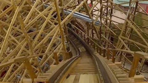 Wodan Timbur Coaster - OnRide