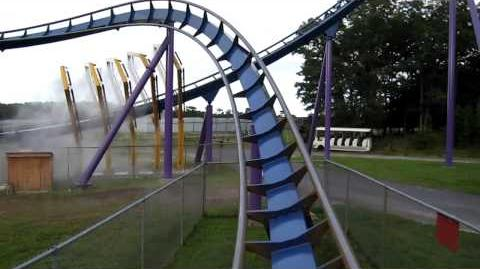 Bizarro (Six Flags Great Adventure) - OnRide - (720p)