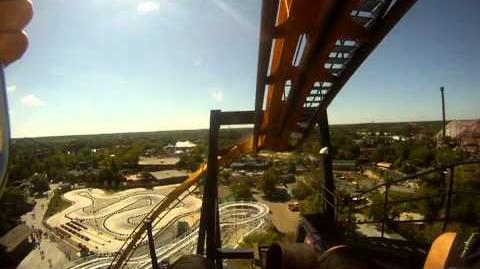 Batman (HD POV) Six Flags Great America