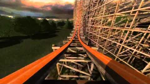 Goliath (Six Flags Great America) - Promotional Animation (1080p)