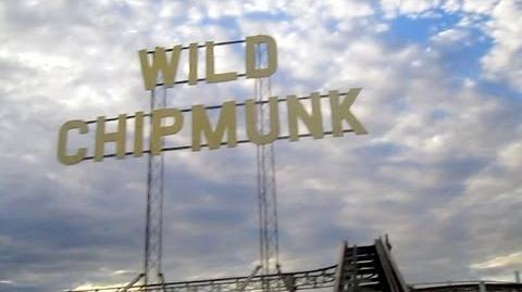 Wild Chipmunk front seat on-ride HD POV Lakeside Amusement Park