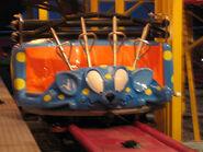 Fantasy Island Crazy Mouse car