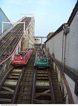 Möbius Loop Roller Coaster