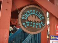 Timberline twister sign