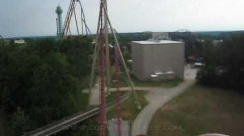 Diamondback (Kings Island) - OnRide - (720p)