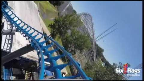 Blue Hawk (Six Flags Over Georgia)