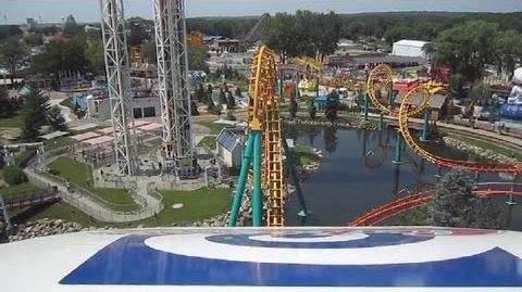 Corkscrew (Valleyfair) - OnRide - (360p)