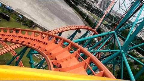 Titan (Six Flags Over Texas) - OnRide - (1080p)