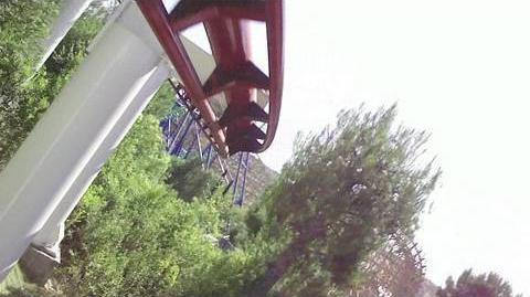 Ninja (Magic Mountain) - OnRide - (720p)