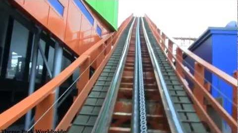 Nickelodeon Streak Front Row On Ride HD POV Blackpool Pleasure Beach