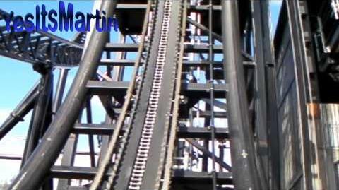 Saw - The Ride (Thorpe Park) - OnRide - (720p)