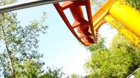 Iron Dragon (Cedar Point) - OnRide - (720p)