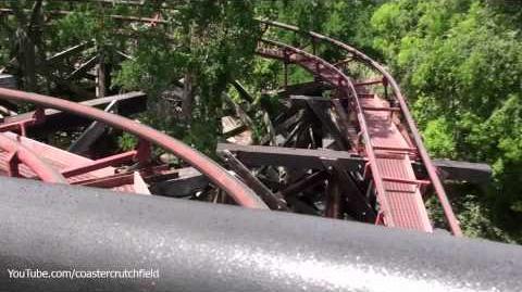 Runaway Mine Train (Six Flags Over Texas)