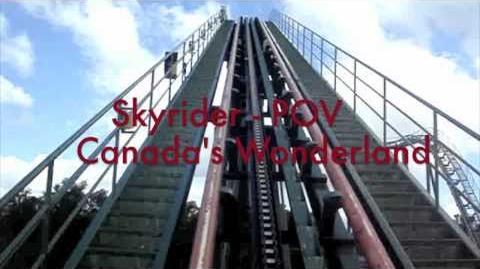 Skyrider (Canada's Wonderland) - OnRide - (720p)