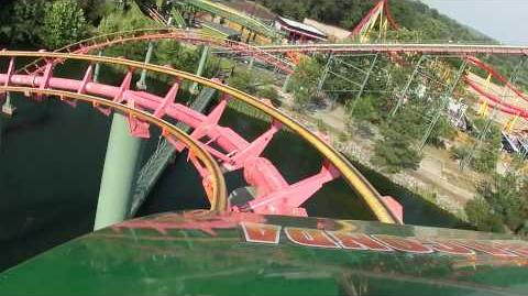 Anaconda (Kings Dominion) - OnRide (1080p)