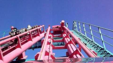 Flashback (Six Flags Over Texas) - OnRide - (480p)