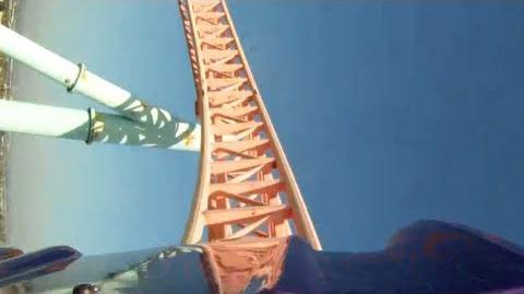 Xcelerator (Knott's Berry Farm) - OnRide - (720p)