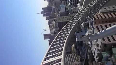 Thunder Dolphin (Tokyo Dome City) - OnRide - (480p)