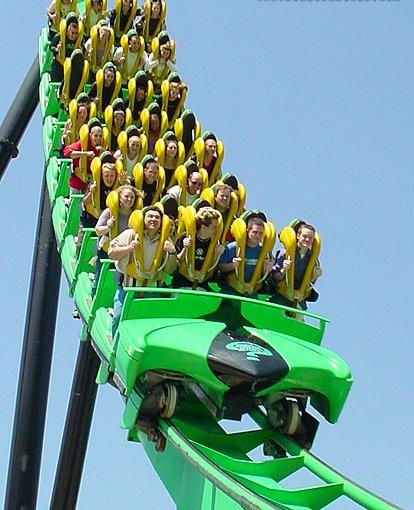 Stand Up Roller Coaster Roller Coaster Wiki Fandom