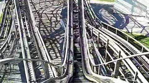 Ghoster Coaster (Canada's Wonderland) - OnRide - (360p)