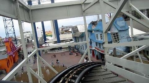 Wild Mouse on-ride HD POV Pleasure Beach, Blackpool
