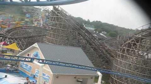 Roller Soaker - Hershey Park - First Person Ride Video