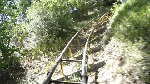 Gold Rusher (Magic Mountain) - OnRide - (720p)