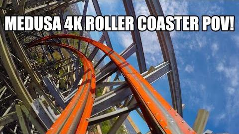 Medusa 4K Roller Coaster POV Ultra HD Six Flags Mexico