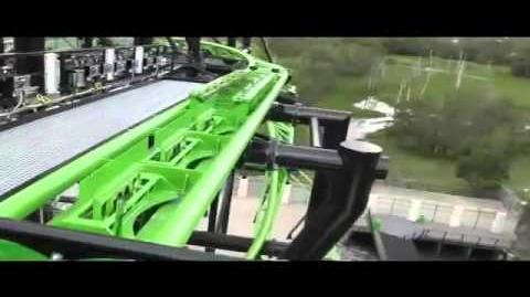Green Lantern Coaster - OnRide