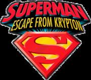 Superman Escape From Krypton Logo