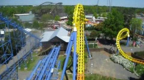 Carolina Cyclone (Carowinds) - OnRide - (480p)