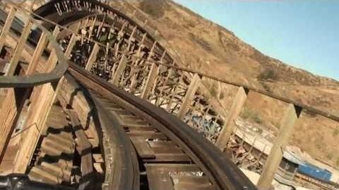 Apocalypse (Six Flags Magic Mountain) - OnRide - (1080p)