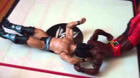 Wrestling figure Nigth of champion