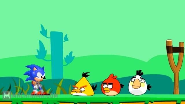 File:Sonic and Angry Birds.jpg