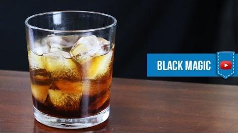 Black Magic Cocktail- How to make Video Cocktail Recipe by Drink Lab (Popular)