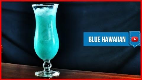 Blue Hawaiian Cocktail - How to make Video Cocktail Recipe by Drink Lab (Popular)