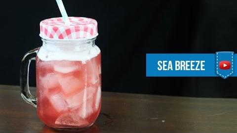 Sea Breeze Cocktail - How to make Video Cocktail Recipe by Drink Lab (Popular)