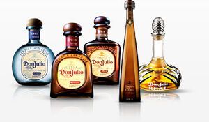 Don julio bottles