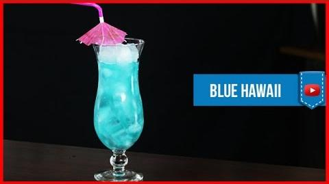 Blue Hawaii Cocktail - How to make Video Cocktail Recipe by Drink Lab (Popular)