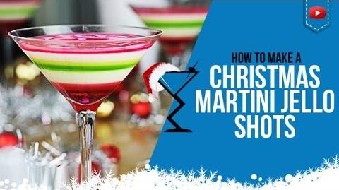 Christmas Jello Shots - How to make Layered Christmas Jello Shots Cocktail Recipe (Popular)
