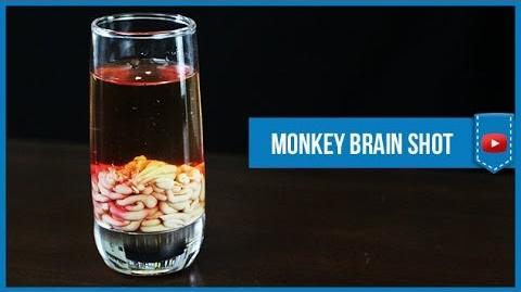 Monkey Brain Shot - How to make Video Cocktail Recipe by Drink Lab (Popular)