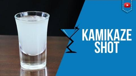 Kamikaze Shot - How to make a Kamikaze Shot Cocktail Recipe by Drink Lab (Popular)