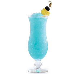 Blue-hawaiian blended