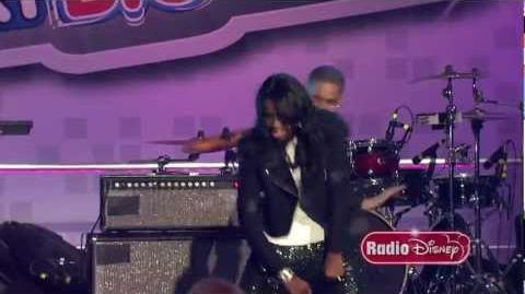 "Coco Jones ""Holla at the DJ"" at the Radio Disney ""N.B.T."" Finale"