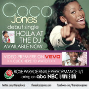 Coco Jones Holla at the DJ