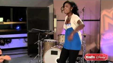 "Coco Jones Music Video ""Real You"" on Radio Disney's Next Big Thing"