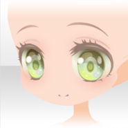 (Face) Little Mermaid Big Eyes Smile Face ver.A yellow