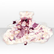 (Tops) Princess Controlling Sky and Moon Dress ver.A red