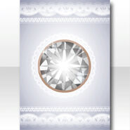 (Wallpaper Profile) Pure Crystal Big Jewel Wallpaper ver.A white