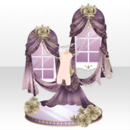 (Back Accessories) Soin Anemone Window ver.A purple
